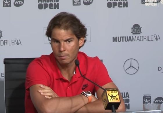 Rafael Nadal Madrid Open_video