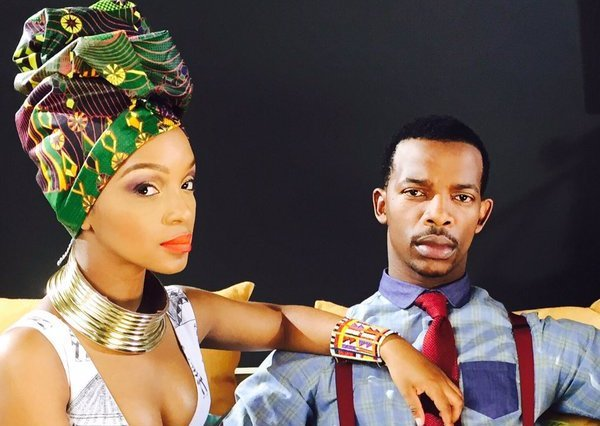 Zakes Bantwini shows off his Nandi Mngoma