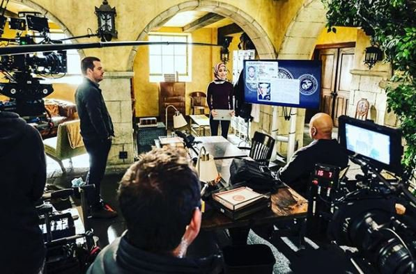 Behind the scenes on NCIS: Los Angeles
