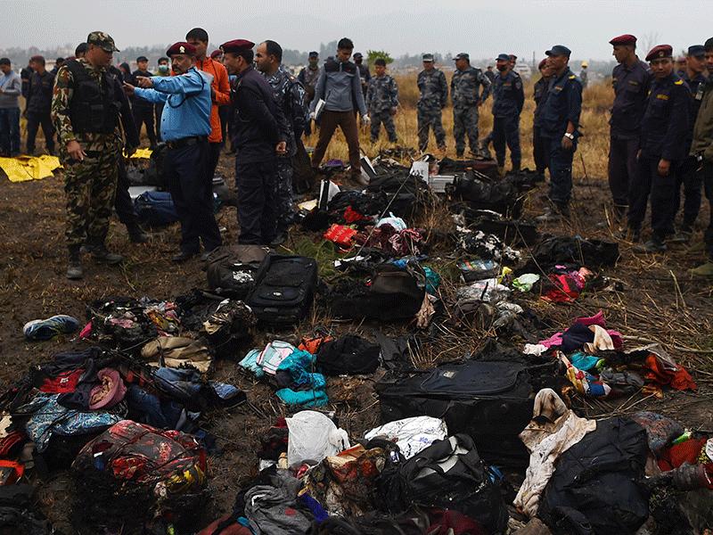 Fatal plane crash near Kathmandu airport