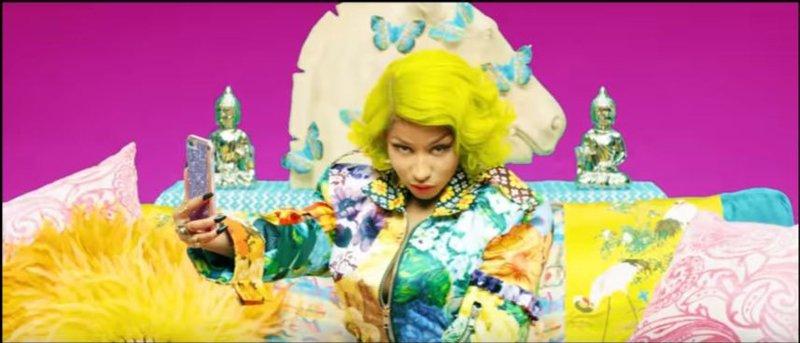 Nicki Minaj in BTS's 'Idol' video