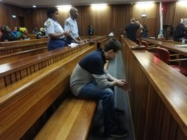 Ninow's second day of trial