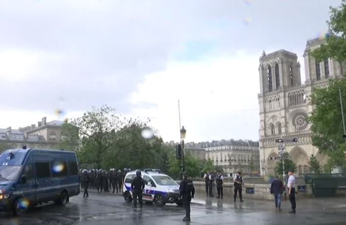 Notre dame attack_video
