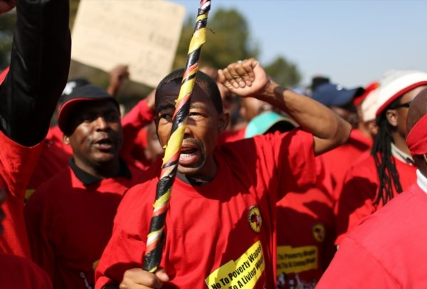 NUM National Union of Mineworkers_gallo