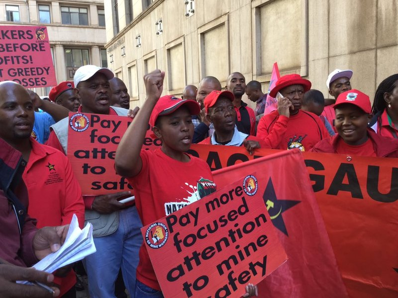 NUM Mine Safety March