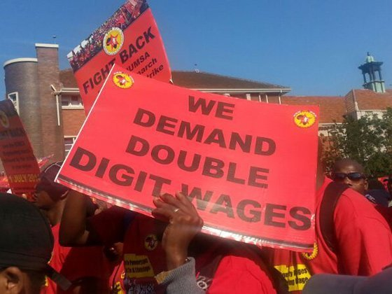 public sector wage bill agreement Numsa march