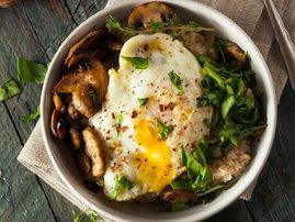 Savoury oats