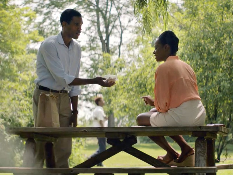Obama and Michelle go on their first date in this trailer