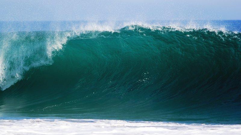High Waves Ocean