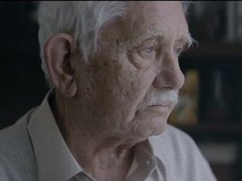 Grandfather fakes his own death in bizarre Christmas advert