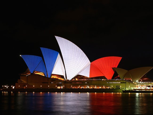 Sydney's opera house - getty