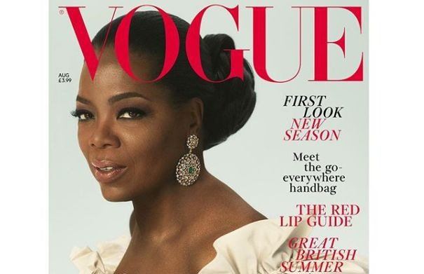 Oprah British Vogue cover