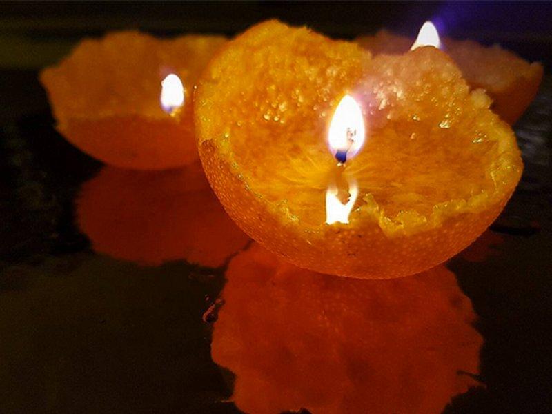 Keri's Wellness Wednesday: Homemade Orange Candles