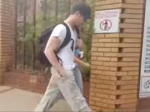 Oscar Pistorius - screengrab