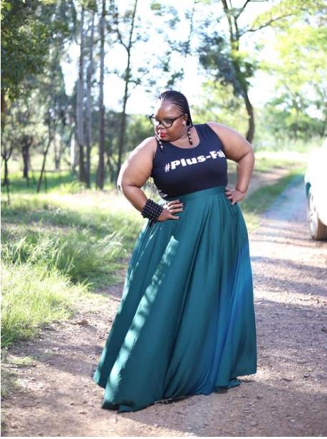 Plus Size Fashion Designer Ouma Tema Talks To Rian About