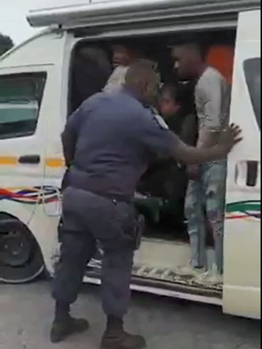 Durban overcrowded taxi