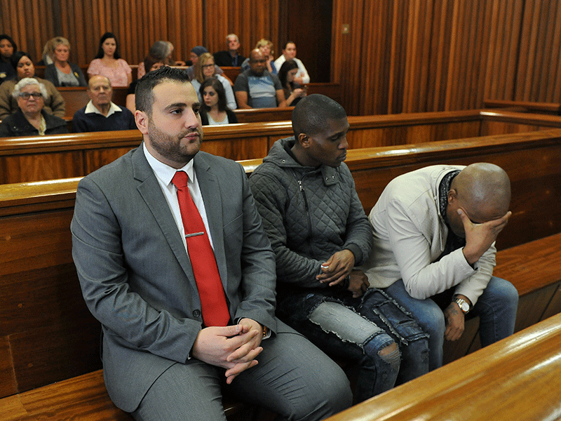 Christopher Panayiotou, co-accused in court