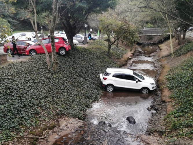 WATCH: Parking gone wrong