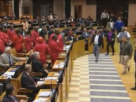 EFF removed from parliament_video