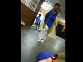 patient dancing