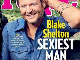 Blake Shelton Sexiest Man Cover