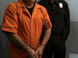 Prisoner and guard