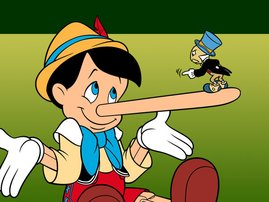 Lies from Pinocchio