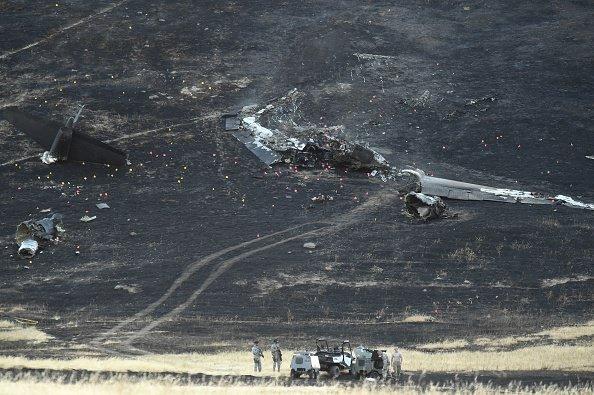 Plane crash - generic image