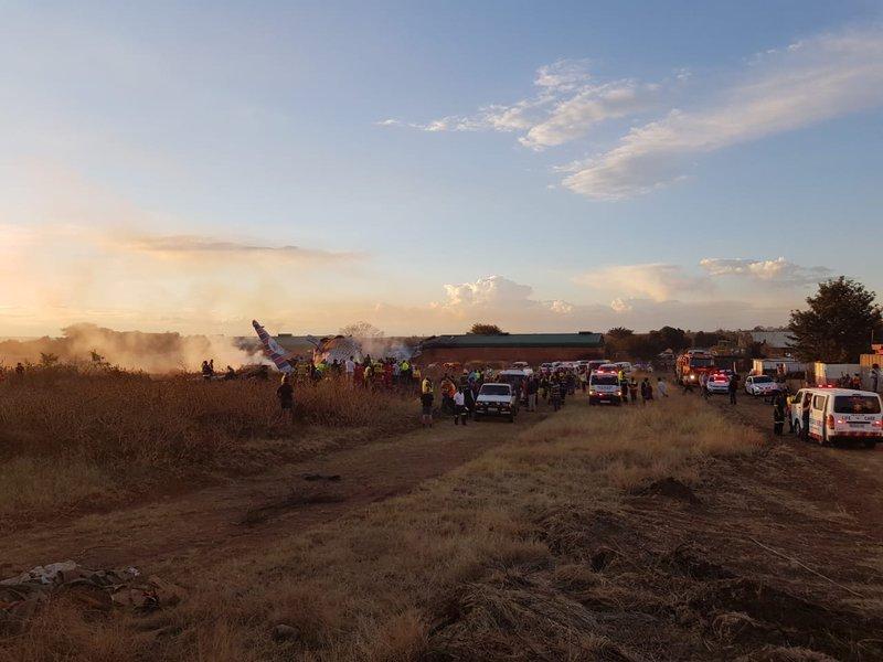 Pretoria plain crash EMS