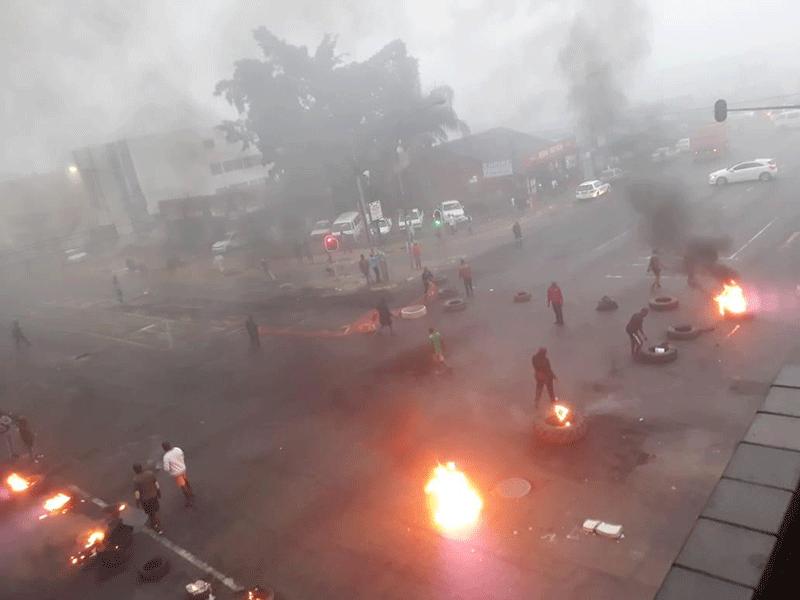 PIetermaritzburg protest