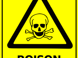 poison safety sign