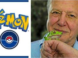 Sir David Attenborough Narrating Pokémon Go