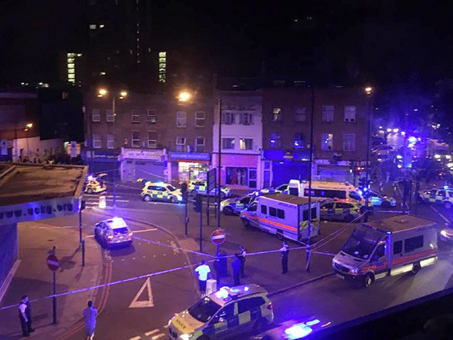 West Mids Emergency Services React To Finsbury Park Terror Attack