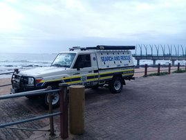 Police search and rescue at Umhlanga beach