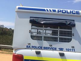 Police car, crime scene