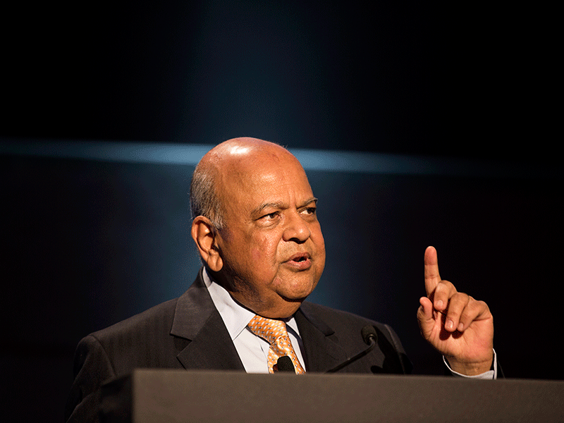 Finding solution to load shedding will be a struggle: Gordhan
