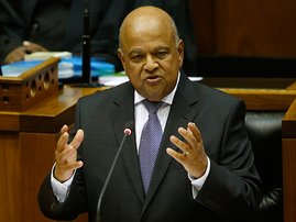 Finance Minister Pravin Gordhan