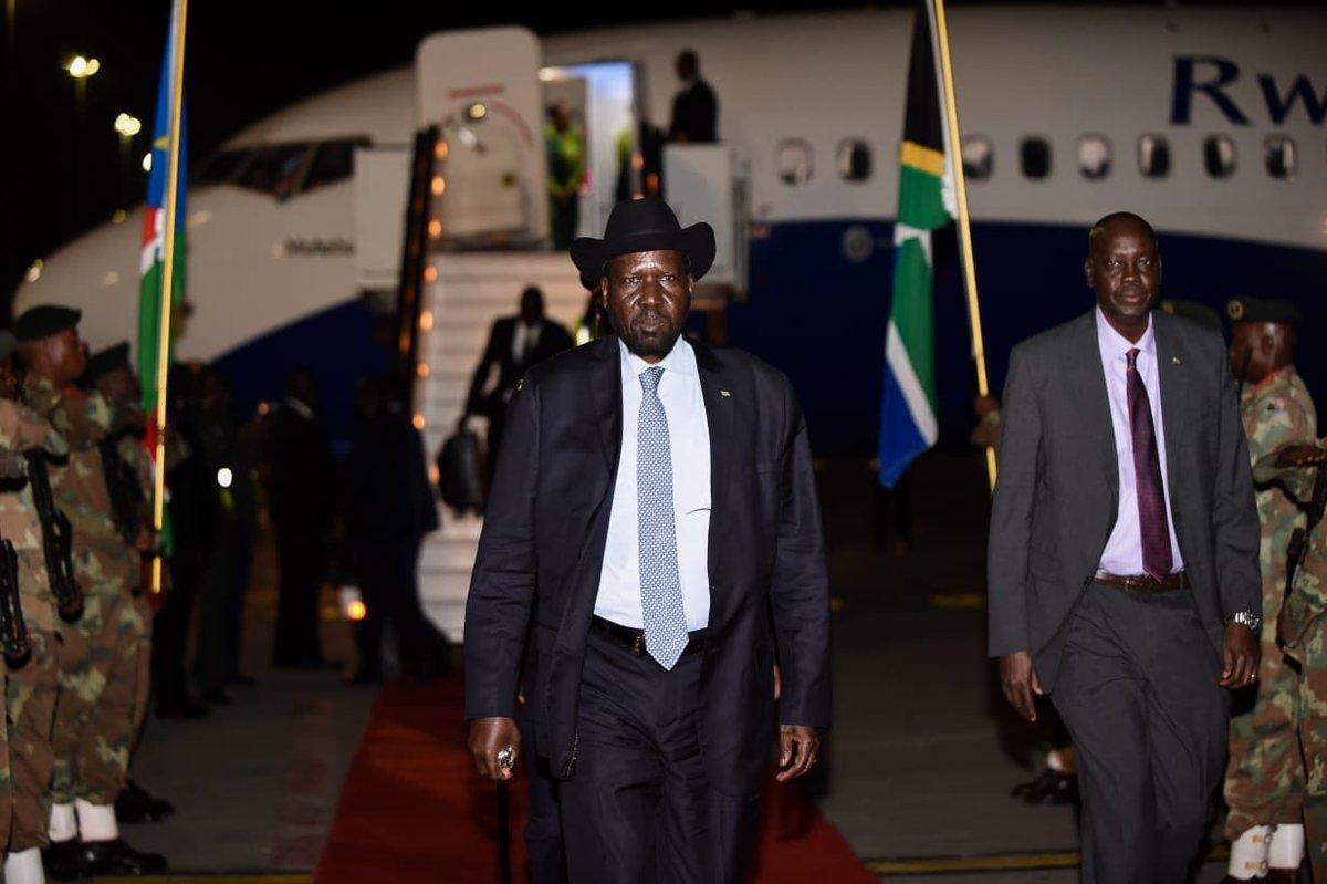 President of South Sudan Salva Kiir Mayardit