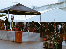 President Jacob Zuma armed forces day