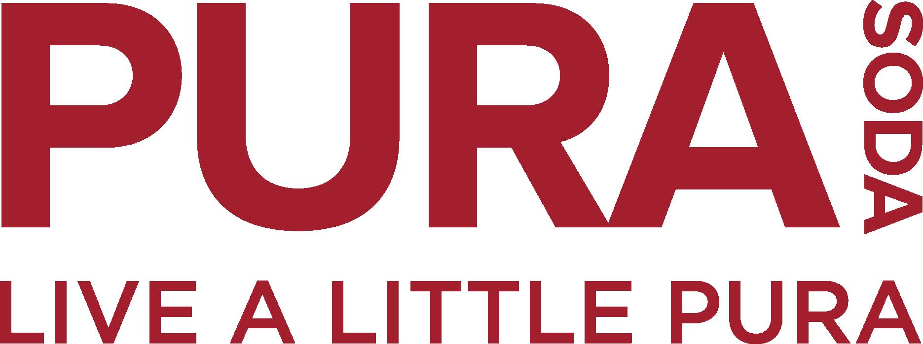 Burgundy logo