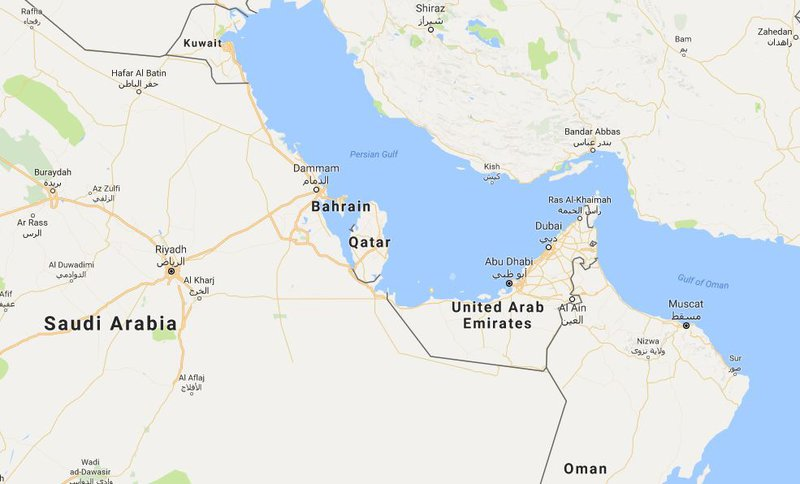 Saudi Bahrain Egypt UAE Cut Ties With Qatar Over Terrorism - Map of egypt and uae