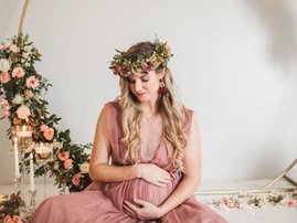 Rachel Kolisi maternity shoot