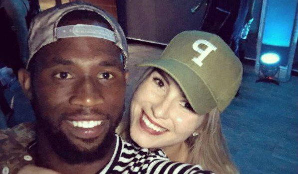 Rachel and Siya Kolisi