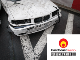 Car crash image for ECR's Consumerwatch
