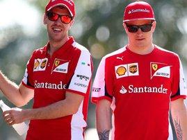 Raikkonen-Vettel