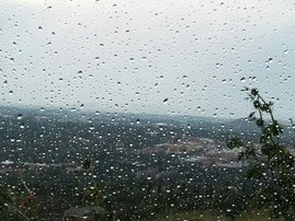 Rainy conditions, rain, storm, storm watch