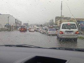 Rain - traffic