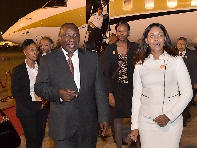 Image result for ramaphosa gupta plane