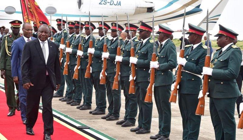 Ramaphosa on working visit to Mizambique