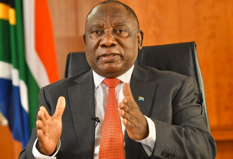 Just In President Cyril Ramaphosa To Address Nation Tonight